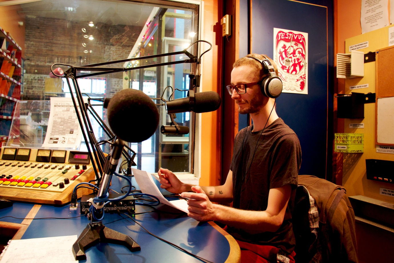 A Librarian on the Radio